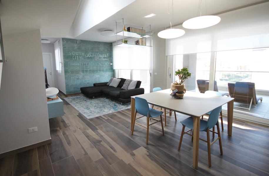 casa stile anni 50: progettazione e sviluppo | bf interni - Soggiorno Anni 50